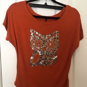 Small Love Culture Owl Tee
